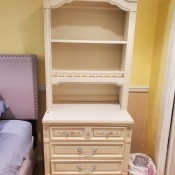 Value of a Dixie Furniture Bedroom Set? - cabinet with drawers and a hutch