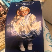 Value of a Franklin Mint Doll? - photo of the box