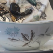 Value of Noritake China? - blue flower and gray leaf pattern