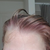 Hair Turned Pink when Dyed? - pinkish hue to hair