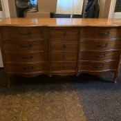 Value of a Dixie Dresser? - 9 drawer dresser