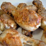 Gluten Free Fried Drumsticks