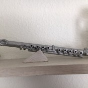 Mini Flute Replica - finished flute