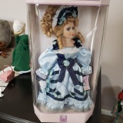 Value of a Vintage Collectible Memories Doll? - doll in box