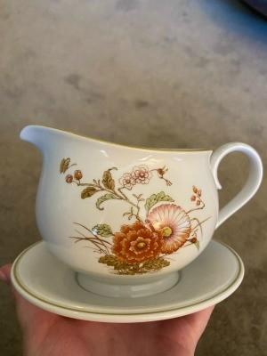 A piece of Noritake china.