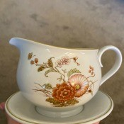 A piece of Noritake china.