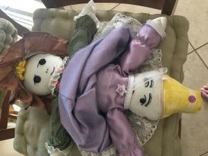 Topsy Turvy Cinderella Doll - finished dolls