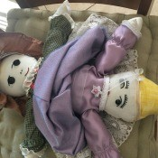 Topsy Turvy Cinderella Doll - finished dolls