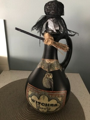 Witch and Warlock Apothecary  -Potion Bottles - witches' brew bottle