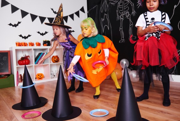 A kids Halloween party.