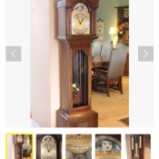 An ad for a grandfather clock.