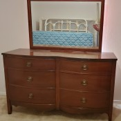 A Dixie 6 drawer bureau.