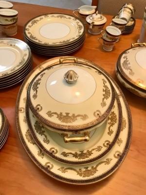 Value of Vintage Noritake Dinner Service?