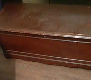 A hope chest.