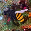Felt Killer Hornet Ornament