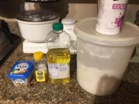 Ingredients for Basic Bosch Bread Recipe