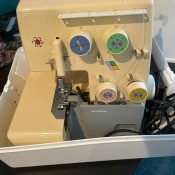 A Nelco sewing machine.