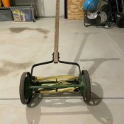 Manufacturer and Value of a Reel Mower?