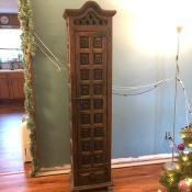Identifying a Rustic Wooden Cabinet?