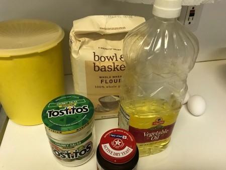 Ingredients for Make Ahead Raised Waffles