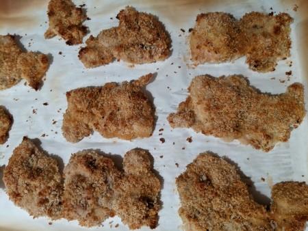 Panko baked chicken.