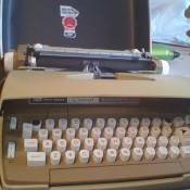 An automatic typewriter.