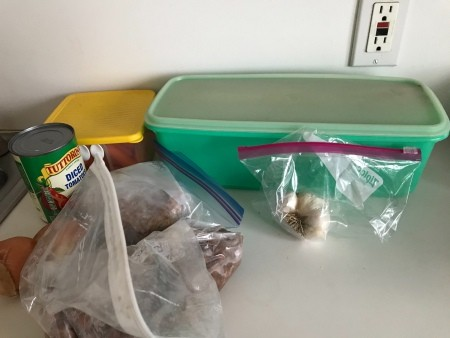 Ingredients for Bean Soup