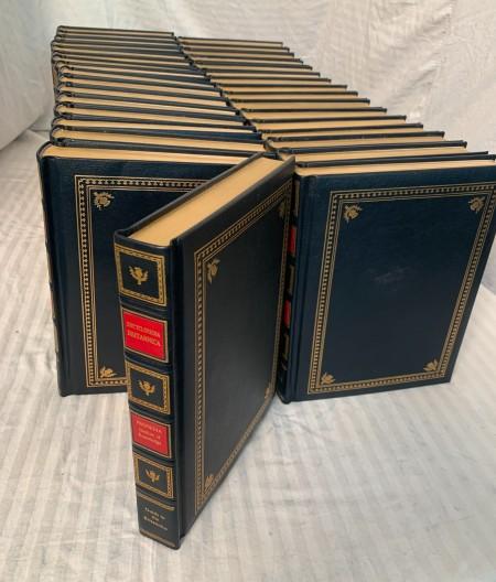 Collection of encyclopedias.