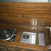 An antique Zenith radio.