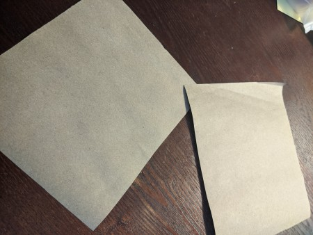 Seed Pack Gifts - cut the paper into 2 or 3 pieces