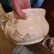 An ornate serving piece.