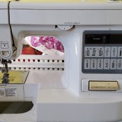 A Brother sewing machine.