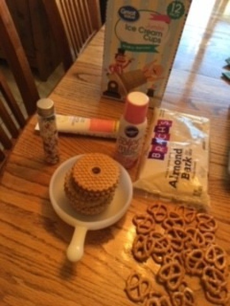 Ingredients for Edible Tea Cups