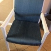 Chair Upholstery Upcycle