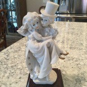 What is the value of a Giuseppe Armani- Just Married statue. A figurine of two children getting married.