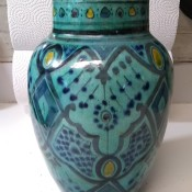 Age and Value of Safi Pottery Vase?