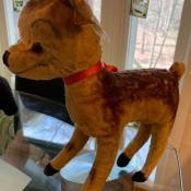Identifying a Stuffed Toy Fawn? - brown stuffy