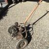 A vintage self propelled mower.