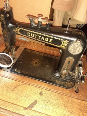 An old Cottage sewing machine.