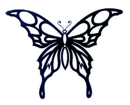 An image of a decorative butterfly.