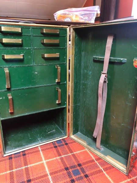 Value of Red Cross WW2 Trunk?