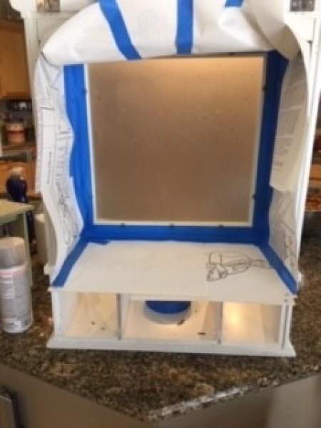 Constructing a custom made jewelry box.