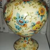 A decorative china vase.
