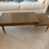A Mersman coffee table.