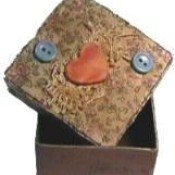 A decorative keepsake box.