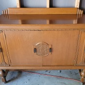 Value of Wooden Buffet Table?