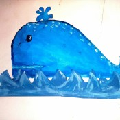 The finished whale.
