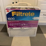 Make Your Own Box Fan Air Filter