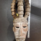 Information on Ceremonial Hand Carved Wooden Mask?