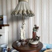 A collection of Giuseppe Armani figurines.